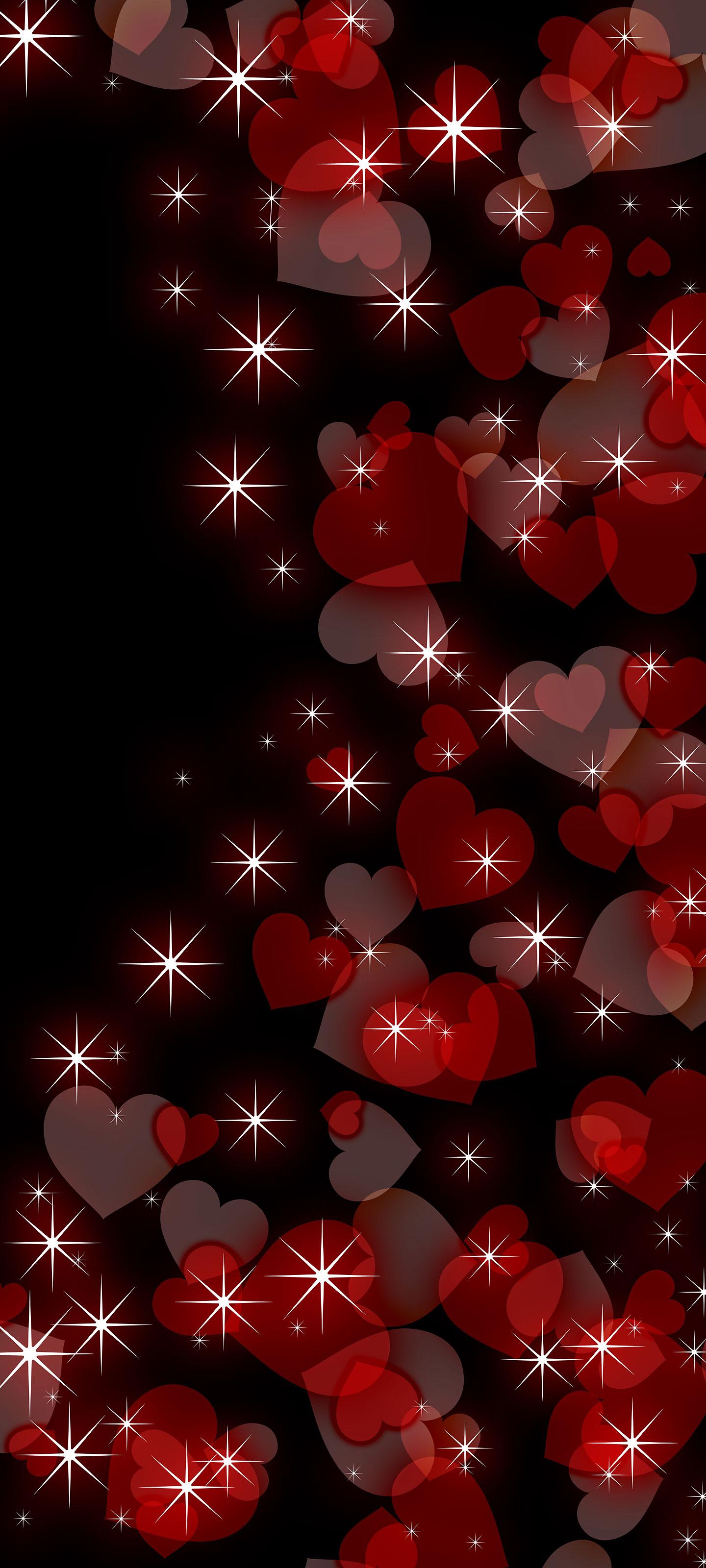 シンプルでかわいいハートの待ち受け スマホ壁紙特集 赤 ピンク 待ち受けparadise